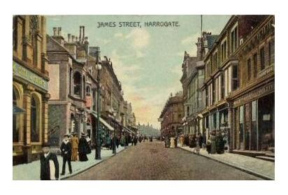 Harrogate James Street - Courtesy of Ann Halford