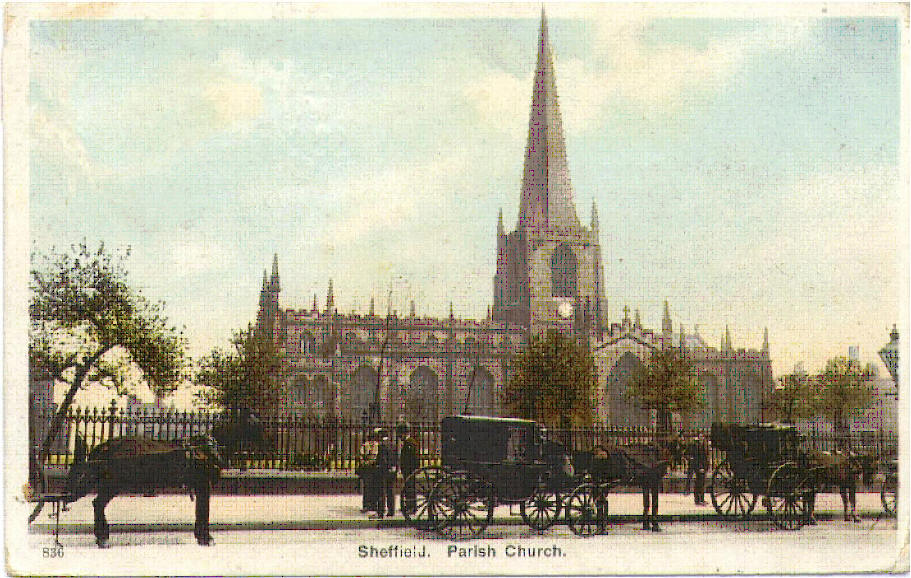 Sheffield Parish Church (Cathedral) - courtesy of Ann Halford