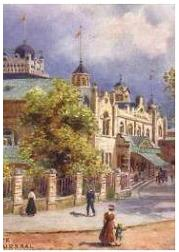 Harrogate - The Kursaal, Early 1900s - Click Here for More Post Cards