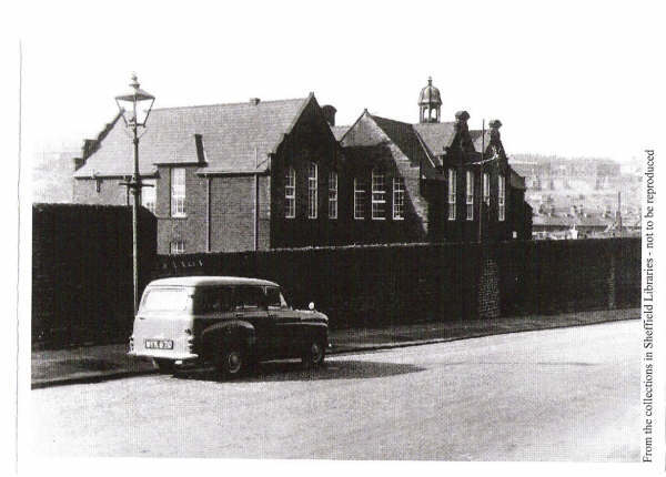 Neepsend Hillfoot School - Click on Photo for More History of Neepsend Council School